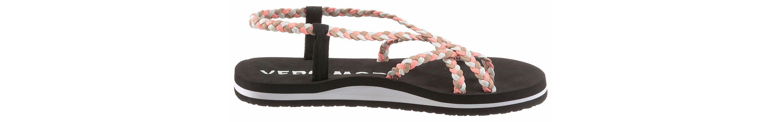 Vero Moda Riemchensandale, mit Textilschlaufen