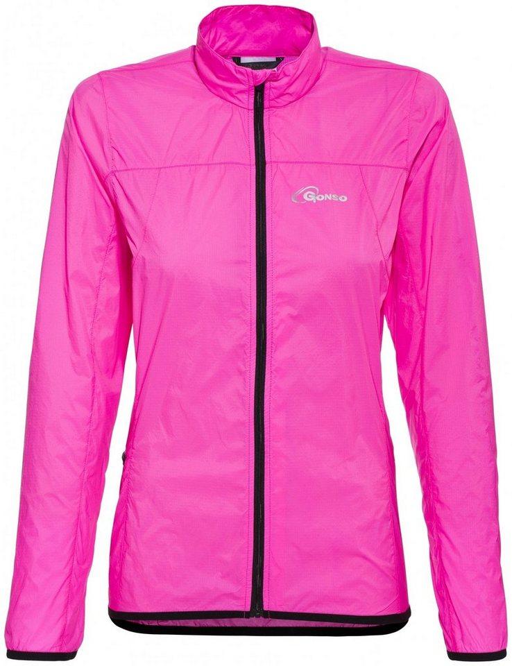 Gonso Radjacke »Windjacke Damen« in pink