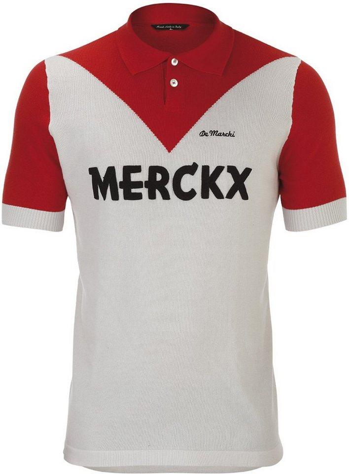 De Marchi Radtrikot »X Eddy Merckx 1970 Roubaix Polo Men« in weiß