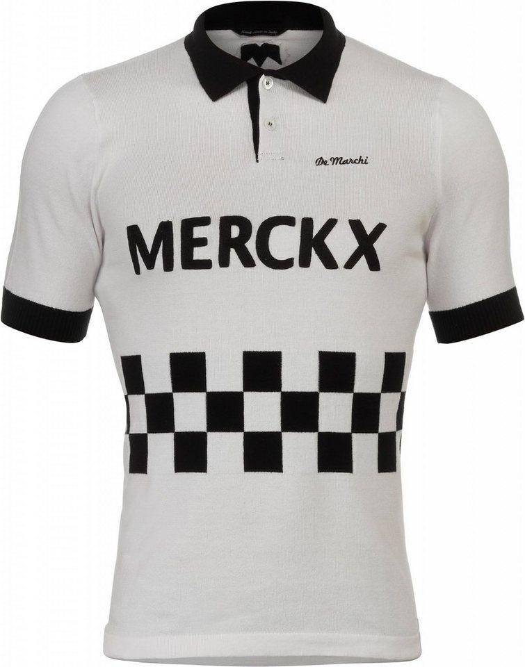 De Marchi Radtrikot »X Eddy Merckx 1967 Blockhaus Polo Men« in weiß