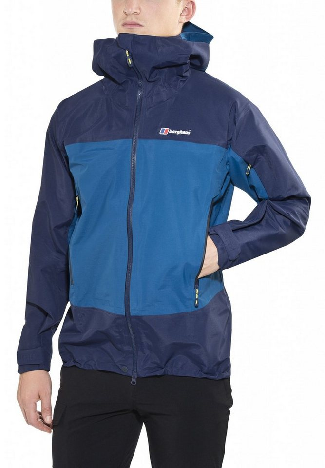 Berghaus Regenjacke »Hagshu Jacket Men« in grau