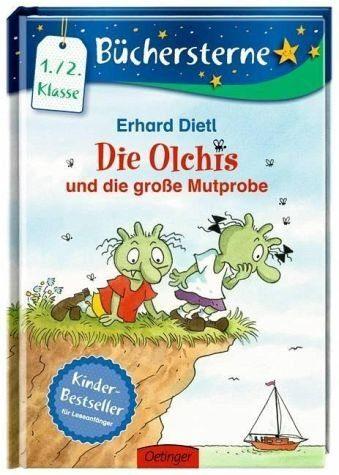 Gebundenes Buch »Die Olchis und die große Mutprobe / Die Olchis...«