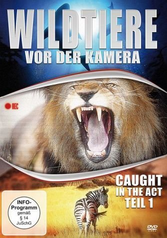 DVD »Wildtiere vor der Kamera - Caught in the Act...«