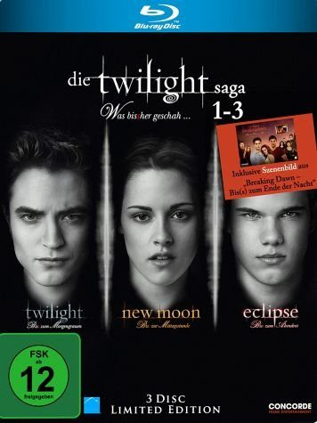 Blu-ray »Die Twilight Saga 1-3 - Was bis(s)her...«