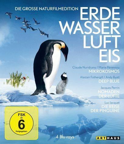 Blu-ray »Erde, Wasser, Luft, Eis - Die große Naturfilm...«