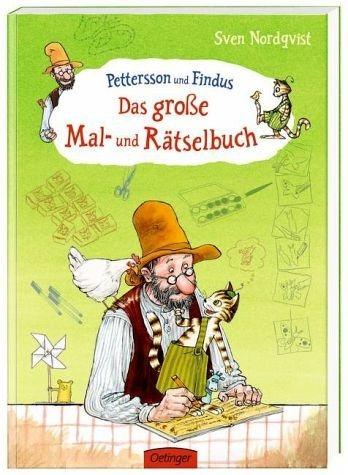 Broschiertes Buch »Pettersson und Findus. Das große Mal- und...«