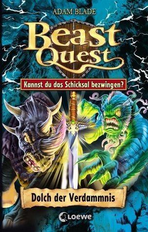 Gebundenes Buch »Beast Quest - Dolch der Verdammnis«