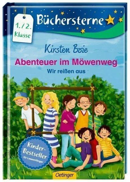 Gebundenes Buch »Wir reißen aus / Abenteuer im Möwenweg...«