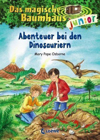 Gebundenes Buch »Abenteuer bei den Dinosauriern / Das magische...«