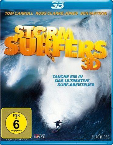 Blu-ray »Storm Surfers 3D (Blu-ray 3D + 2D, OmU)«