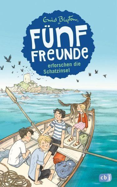 Gebundenes Buch »Fünf Freunde erforschen die Schatzinsel / Fünf...«