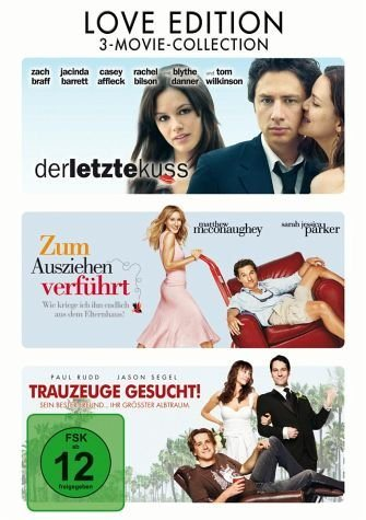DVD »Love Edition: 3-Movie-Collection (3 Discs)«