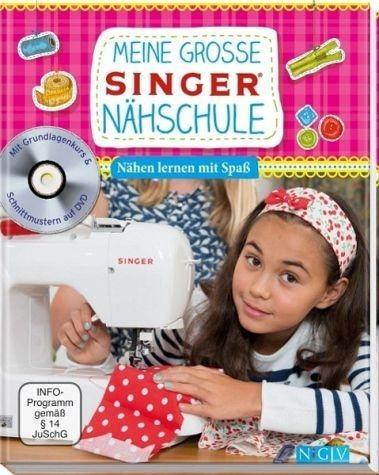 Gebundenes Buch »Meine große SINGER Nähschule (mit DVD)«