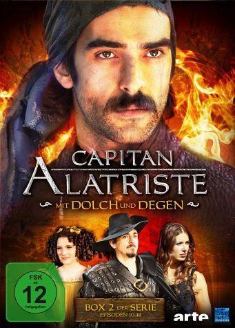 DVD »Captain Alatriste: Mit Dolch und Degen - Box 2«