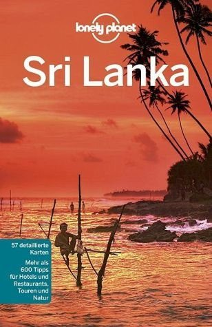 Broschiertes Buch »Lonely Planet Reiseführer Sri Lanka«