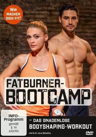DVD »Fatburner-Bootcamp - Das gnadenlose...«