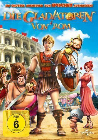 DVD »Die Gladiatoren von Rom«