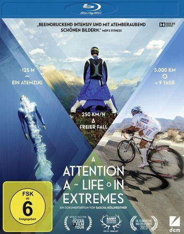 Blu-ray »Attention: A Life in Extremes«