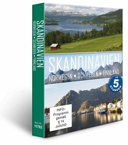 DVD »Skandinavien - Norwegen, Schweden, Finnland (3...«