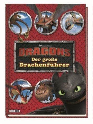 Gebundenes Buch »Dragons: Der große Drachenführer«