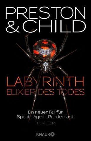 Gebundenes Buch »Labyrinth - Elixier des Todes / Pendergast Bd.14«