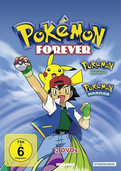 DVD »Pokémon Forever Edition (2 Discs)«