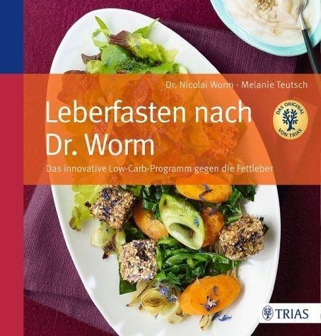 Broschiertes Buch »Leberfasten nach Dr. Worm«