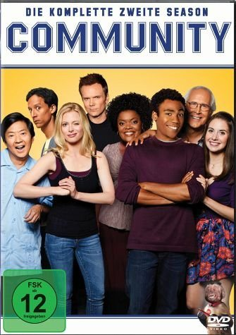 DVD »Community - Die komplette zweite Season (4 Discs)«