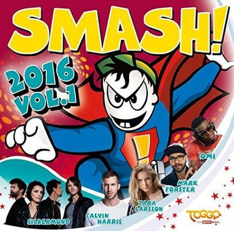 Audio CD »Various: Smash! 2016,Vol.1«