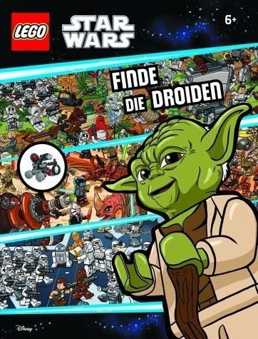 Gebundenes Buch »LEGO® Star Wars(TM) Finde die Droiden: mit...«