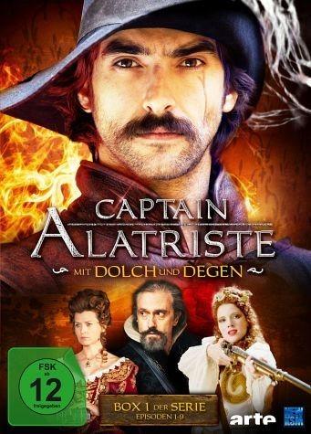 DVD »Captain Alatriste: Mit Dolch und Degen - Box 1«