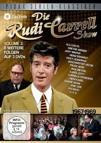 DVD »Die Rudi Carrell Show, Vol. 2 (3 Discs)«