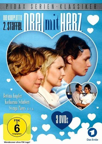 DVD »Drei mit Herz - Die komplette 2. Staffel (3...«