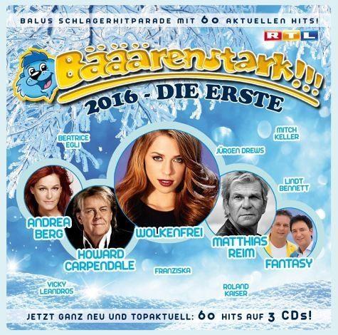 Audio CD »Various: Bääärenstark!!! 2016 - Die Erste (CD)«