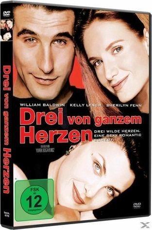 DVD »Drei von ganzem Herzen«