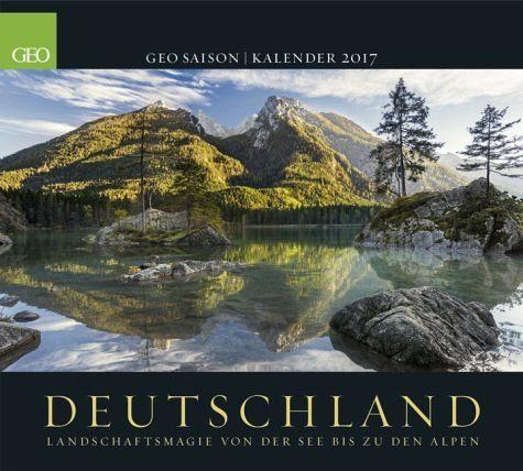 Kalender »GEO Saison: Deutschland 2017«