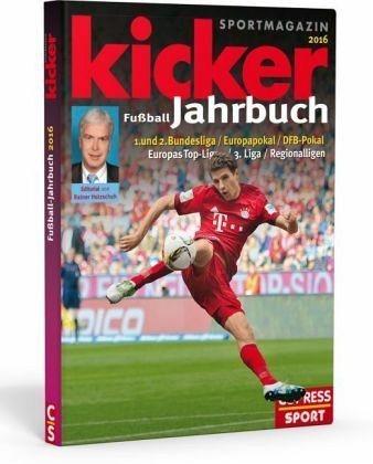 Gebundenes Buch »Kicker Fußball-Jahrbuch 2016«