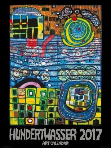 Kalender »Hundertwasser Art Calendar 2017 (Format 65 x...«