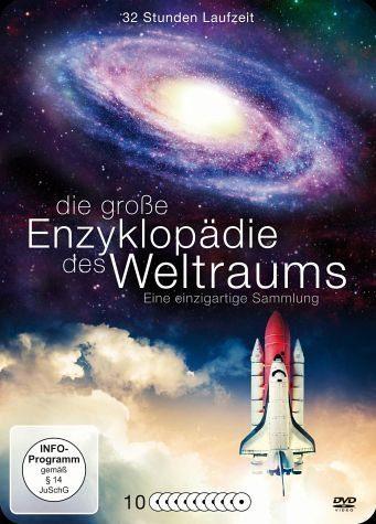 DVD »Die große Enzyklopädie des Weltraums (10 Discs)«