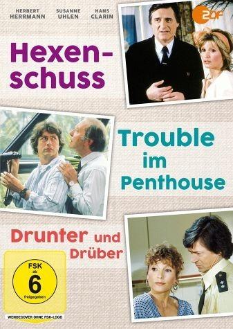 DVD »Hexenschuss / Trouble im Penthouse / Drunter...«