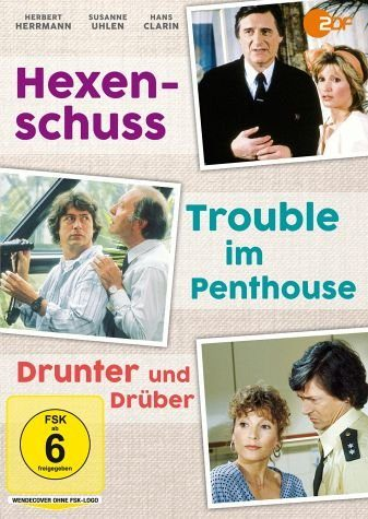 DVD »Hexenschuss / Trouble im Penthouse / Drunter...«