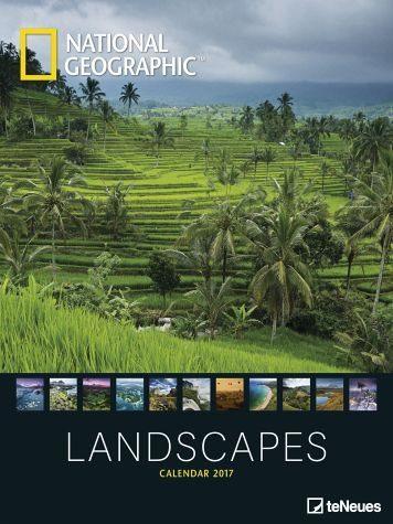Kalender »National Geographic Landscapes 2017...«