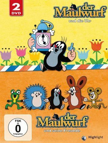 DVD »Der Maulwurf und die Uhr / Der Maulwurf und...«