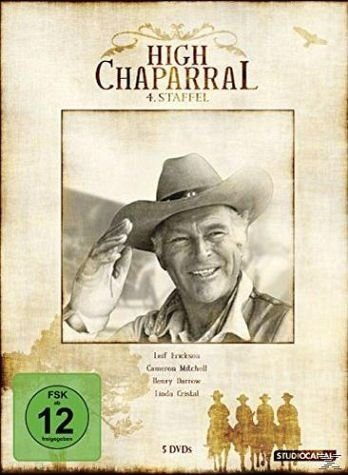 DVD »High Chaparral - 4. Staffel«