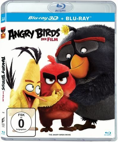 Blu-ray »Angry Birds - Der Film (Blu-ray 3D)«