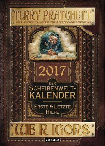 Broschiertes Buch »Der Scheibenwelt-Kalender 2017«