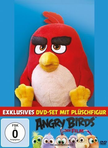 DVD »Angry Birds - Der Film (+ Plüschfigur Red)«