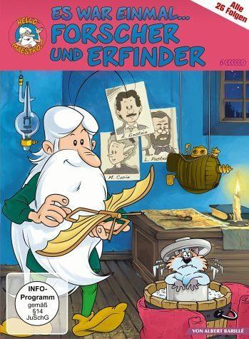 DVD »Es war einmal... Forscher und Erfinder (6 Discs)«