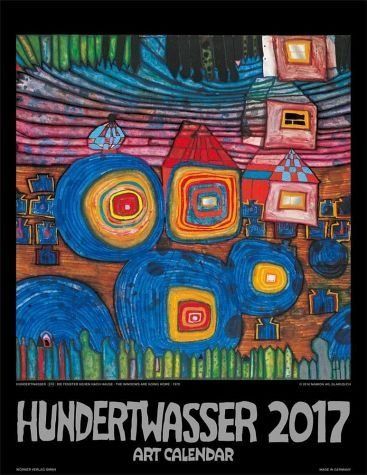 Kalender »Hundertwasser Art Calendar 2017 (Format 44 x...«