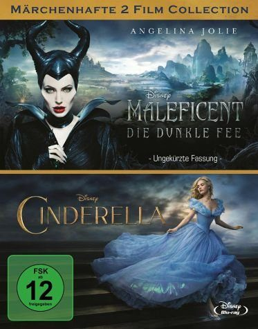 Blu-ray »Maleficent - Die dunkle Fee / Cinderella (2...«
